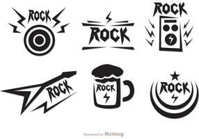 Rock Music Symbols Vectors Pack