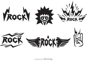 Rock Music Symbols Vectors