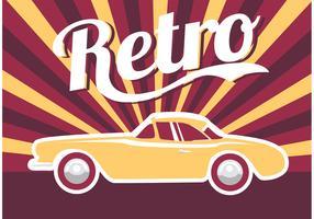Poster Car Retro