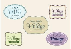 Free Vintage Vector Labels