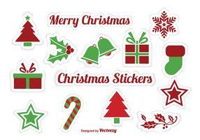 Christmas Sticker Vectors s
