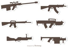 Gun Set Vectors Pack 2