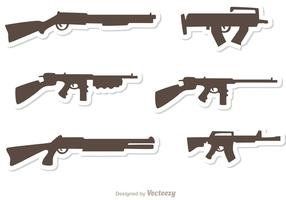 Gun Set Vectors Pack 1