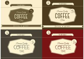 Free Vintage Coffee Vectors