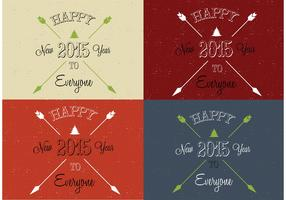 Arrow Happy New Year Vectors