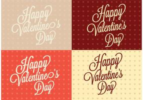 Polka Dot Heart Valentine's Day Backgrounds