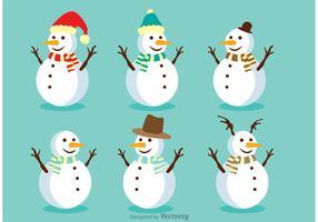 Snowman Vectors Pack