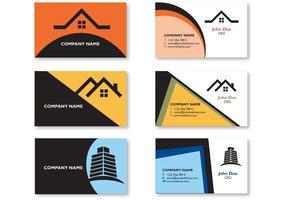 Modern Real Estate Visiting Card Design