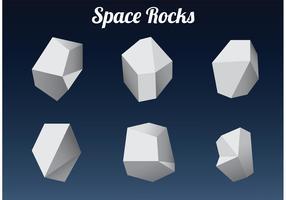 Polygonal Space Rocks