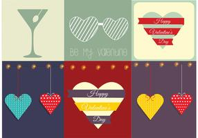 Free Valentine's Day Vector Card