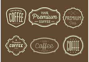 Vintage Coffee and Tea Labels