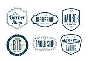 Vintage Barber Shop Labels