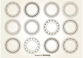 Decorative Circle Ornaments