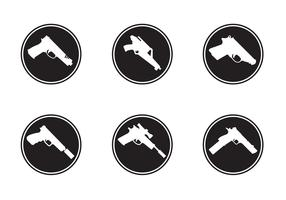 Gun Shapes Icons