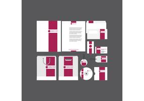 Bold Pink Company Profile Template