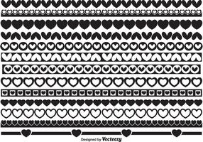 Heart Border Shapes