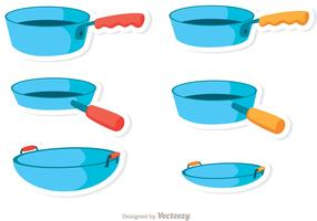Blue Pan Vectors
