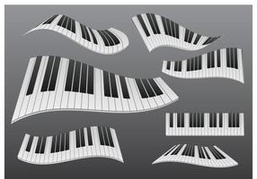Stylized Wavy Piano