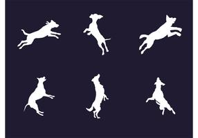 Vector Dog Silhouettes