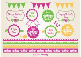 Mother's Day Vector Elements