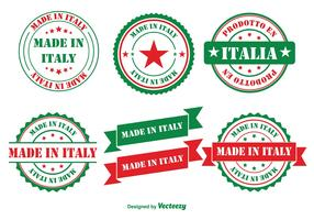 Made in Italy Badges