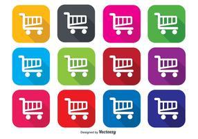 Einkaufswagen Icons
