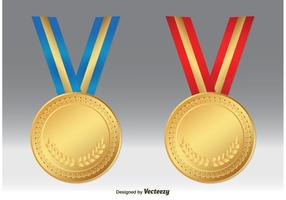 Gold Medal Vectors