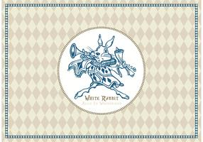 Free White Rabbit Of Alice In Wonderland Vector