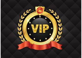 Free Golden VIP Vector Icon