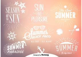 Summer Time Vectors