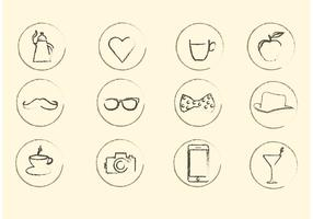 Miscellaneous Sketchy Vector Icons