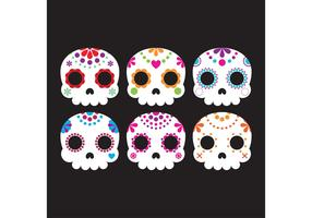 Decorative Sugar Skull Vectors