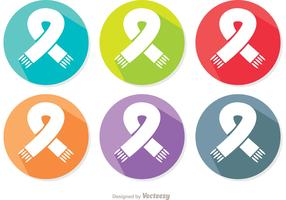 Neck Scarf Icon Vectors