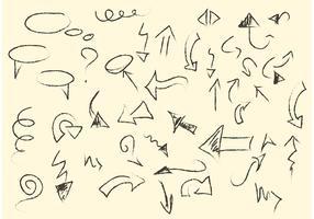 Sketchy Arrows and Line Vectors