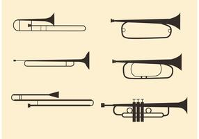 Brass Musical Instrument Vectors