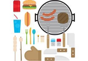 Camp Food Vectors