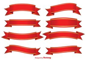 Red Decorative Banners