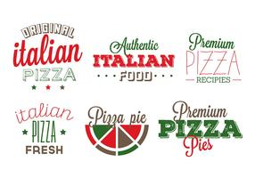 Italian Food Badges