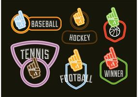 Foam Finger Vectors
