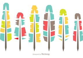 Abstract Feather Icons Vector Pack