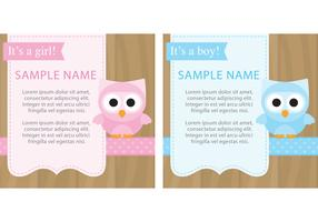 Cute Baby Shower Cards