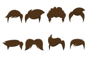 Free Vector Hair Styles