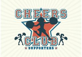 Free Vector Cheerleader Silhouettes