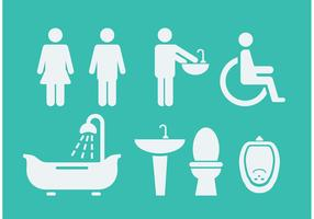 Rest Room Symbols & Icons