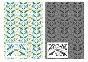 Free Flourish Art Deco Vector Pattern