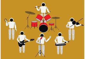 Human Robot Band