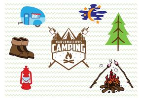 Camp Badges and Icons