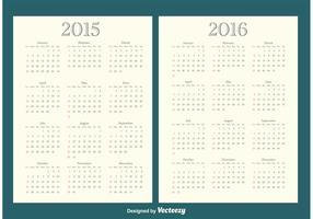 2015/2016 Calendars
