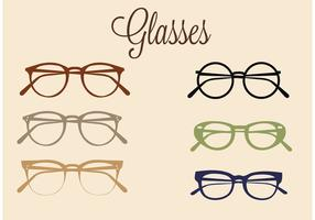 Free Vector Glasses Set