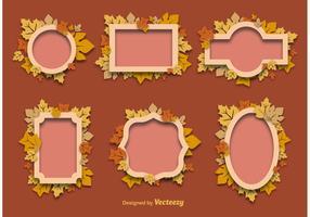 Autumn Decorative Frames